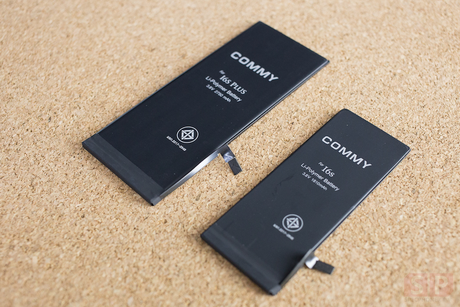 Review COMMY Battery for iPhone 6s and iPhone 6s Plus SpecPhone 00011