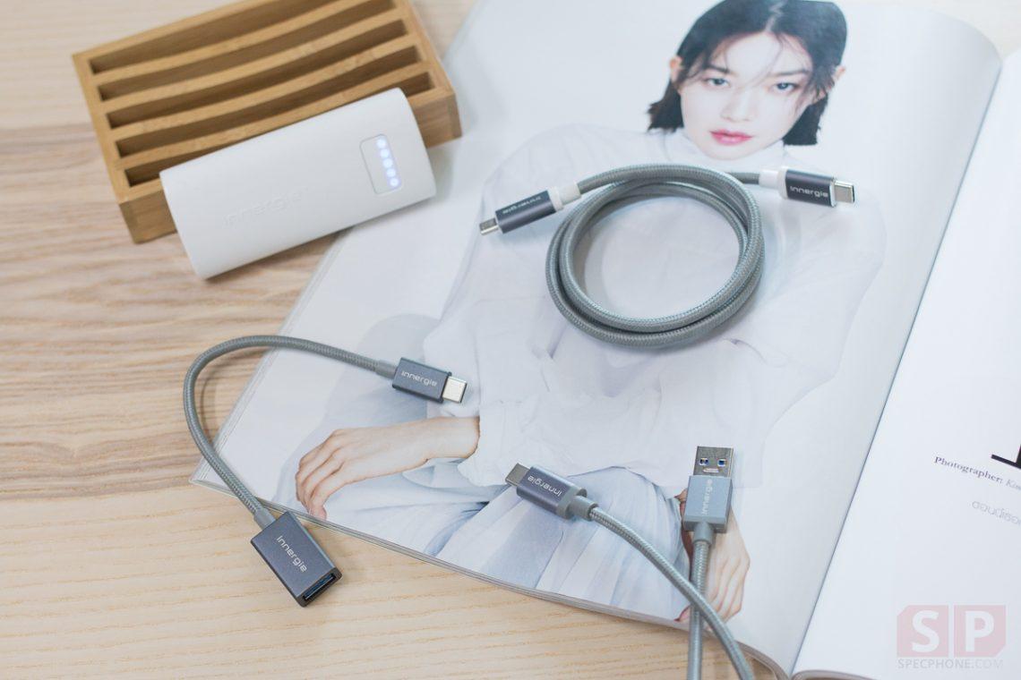 [Review] อุปกรณ์เสริม USB-C จาก Innergie สายชาร์จ, OTG และ Powerbank สำหรับมือถือ USB-C