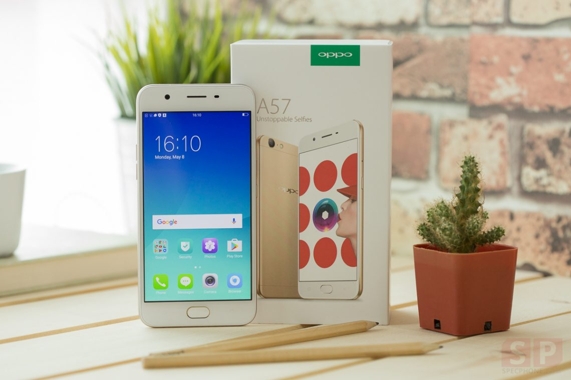 [Review] OPPO A57 โทรศัพท์กล้องหน้า 16 ล้าน สเปคครบ ๆ ในราคาคุ้ม ๆ 7,990 บาท!!