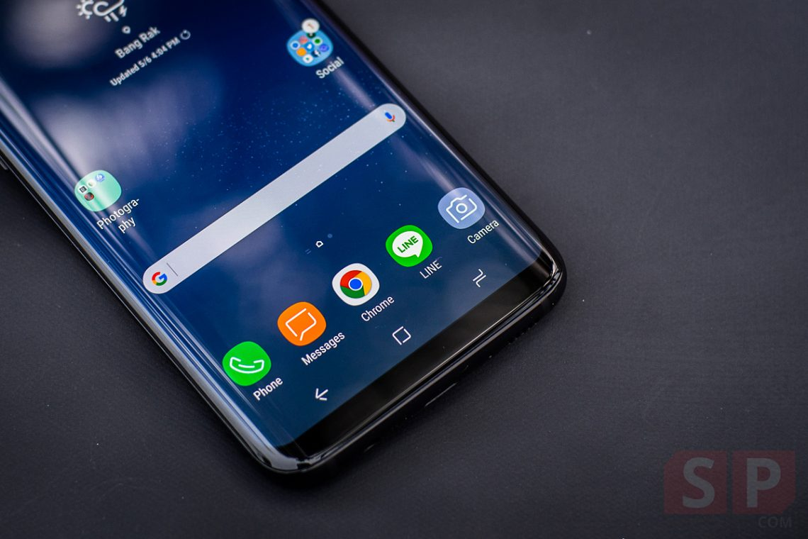 เหตุผลที่ Samsung ยังไม่ใส่เซ็นเซอร์สแกนลายนิ้วมือใต้จอโทรศัพท์ เพราะมีปัญหาเรื่องการแสดงผล