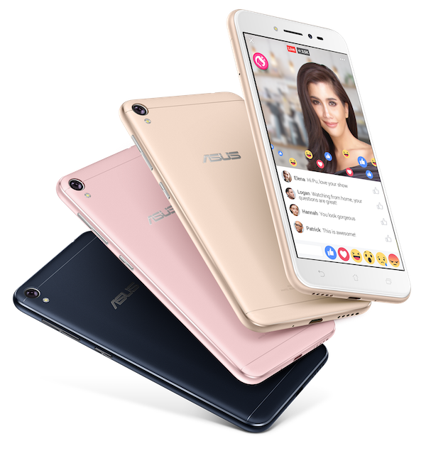 Zenfone Live Product Packshot