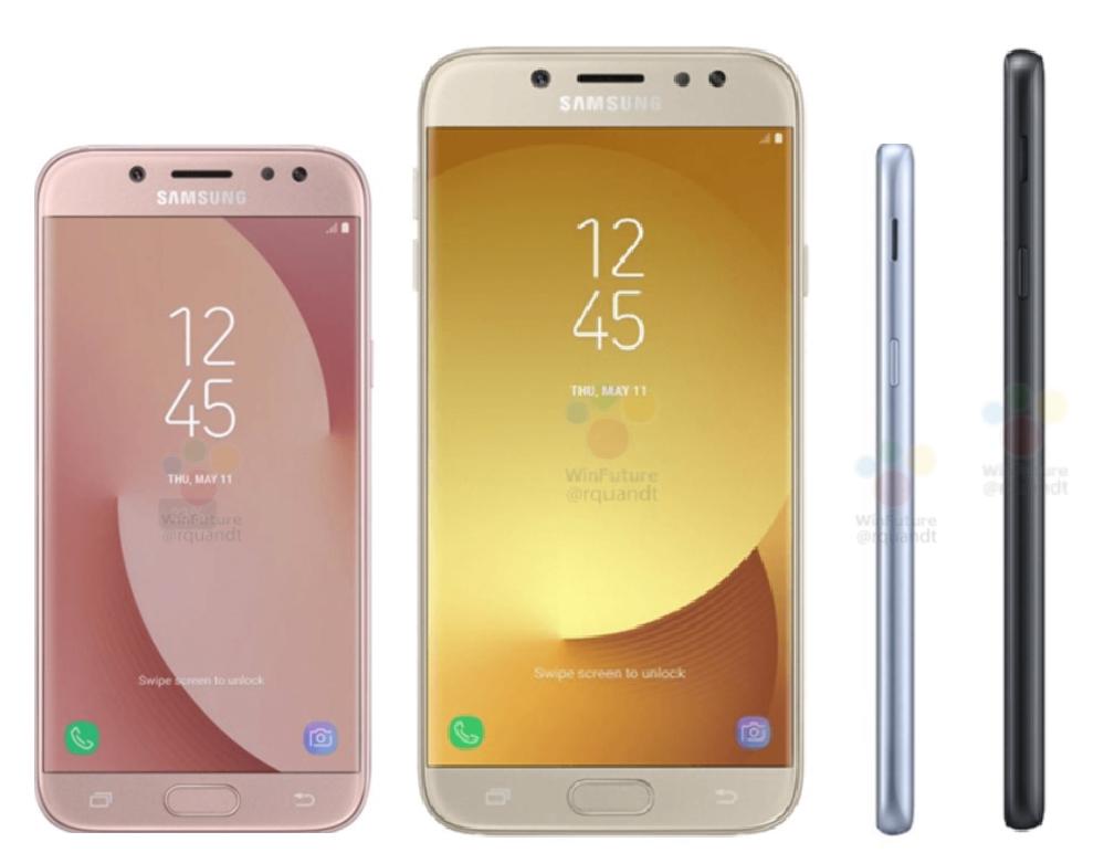 เผยภาพ Samsung Galaxy J5 (2017) และ Galaxy J7 (2017) ดีไซน์คล้ายรุ่นพี่ Galaxy A (2017) !!