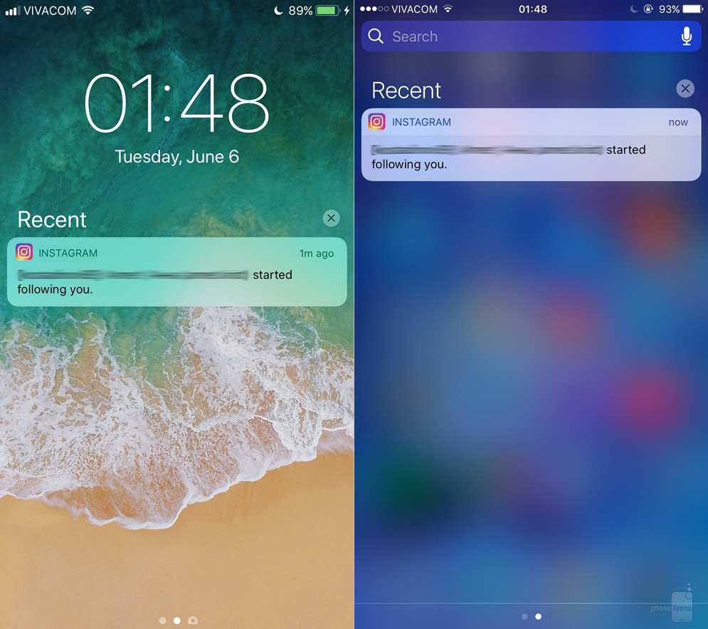 Notification-Center---iOS-11-left-vs-iOS-right