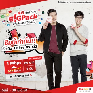 TrueMove-H 4G Net SIM Big Pack-002