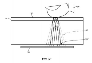Under-glass-home-key-patent