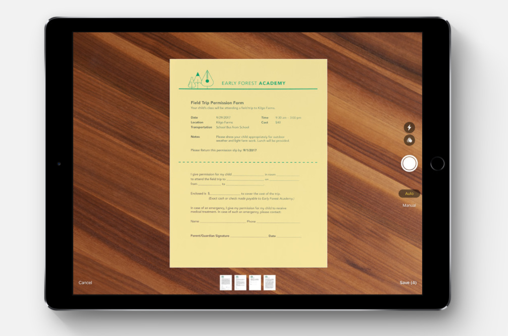 iOS-11-can-scan-documents