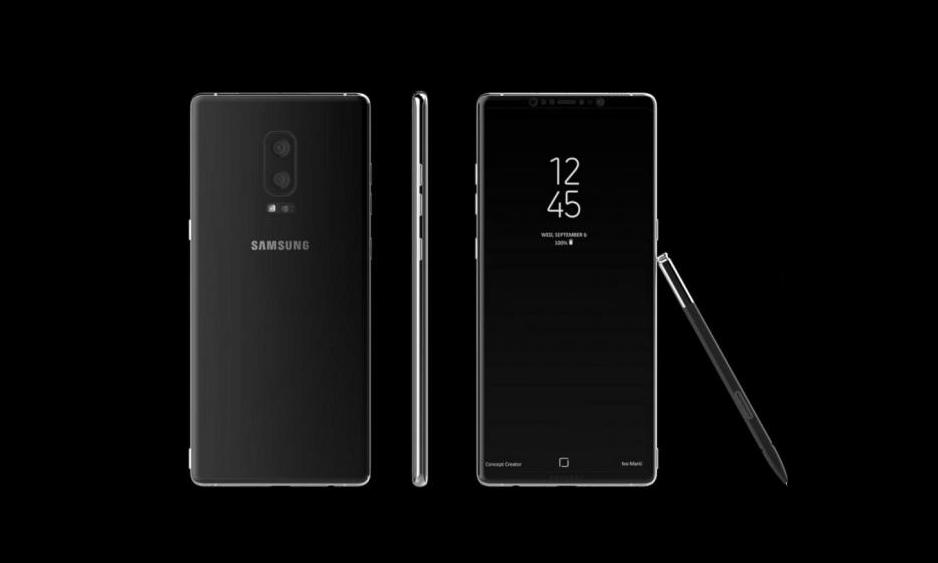 Samsung Galaxy Note 8 จะมาพร้อมกับหน้าจอ Infinity Display และ Android 7.1.1