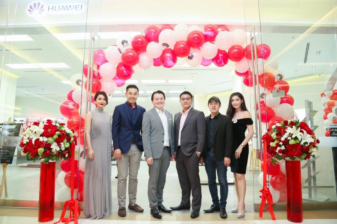 """หัวเว่ยเปิด """"HUAWEI Experience Shop"""" ใหญ่ที่สุดในประเทศไทย ครบครันด้วยสินค้าและอุปกรณ์เสริม ณ ศูนย์การค้าสยามพารากอน"""