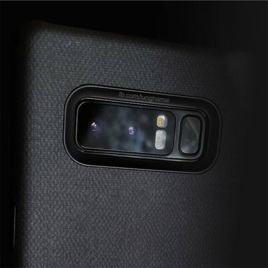 ภาพหลุด Galaxy Note 8 มาพร้อมกล้องหลังคู่และเซ็นเซอร์สแกนลายนิ้วมือ