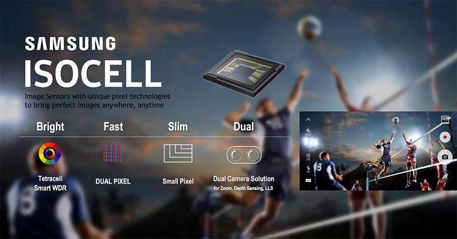 Samsung เปิดตัวเซนเซอร์กล้อง ISOCELL มี Dual Camera ที่คาดว่าจะถูกนำมาใช้กับ Note 8 ด้วย