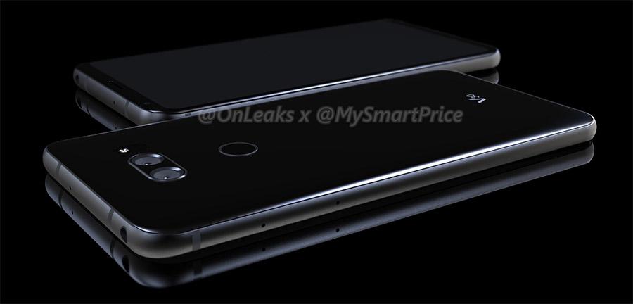 หลุดภาพเรนเดอร์ LG V30 ที่มีการออกแบบเหมือนกับ LG G6
