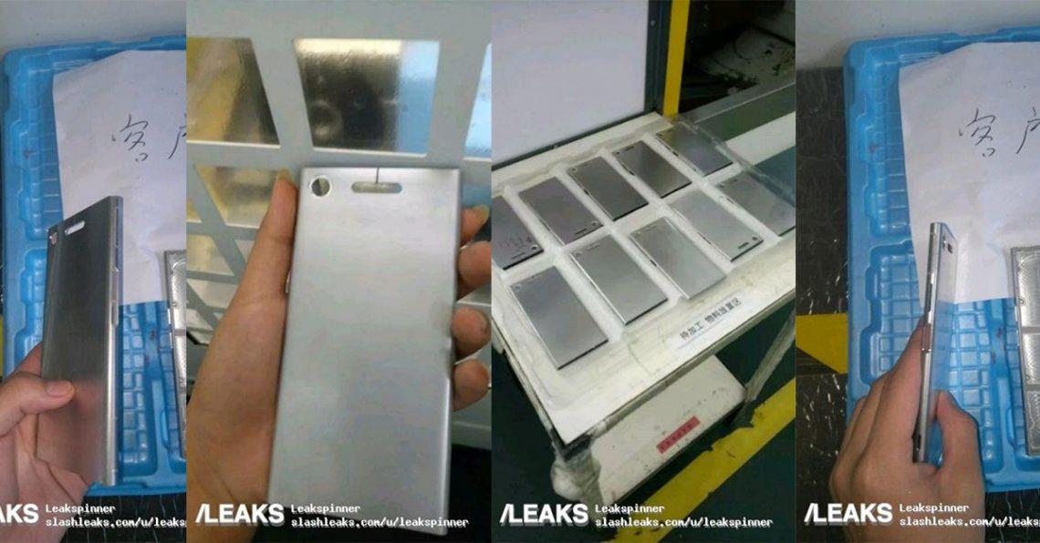 หลุดตัวเครื่อง Sony Xperia XZ1 แสดงให้เห็นถึงช่องขนาดใหญ่พิเศษสำหรับแฟลช