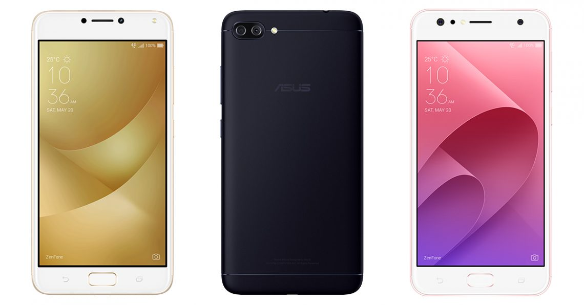 ASUS เปิดตัวสุดยอดซีรี่ย์สมาร์ทโฟน ZenFone 4 series, ZenFone 4 Selfie series และ ZenFone 4 Max Series