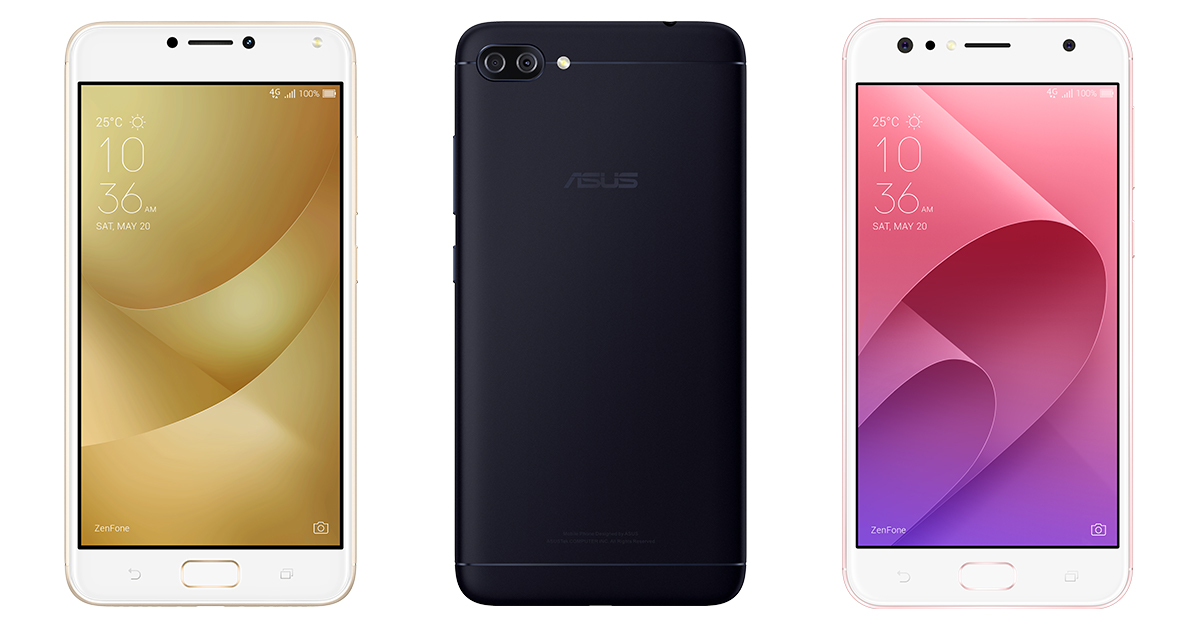 ASUS Announces Brand New ZenFone 4 Family in Taiwan Cover