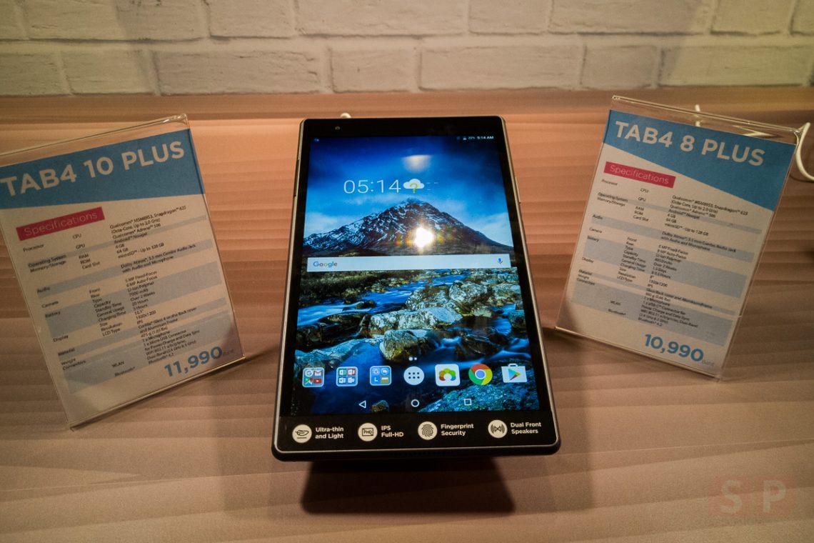 [Hands-on] Lenovo Tab 4 Plus แท็บแล็ต Ram 4 GB หน้าจอ IPS 8 นิ้ว และ 10 นิ้ว ราคาเริ่มต้น 10,900 บาท!!