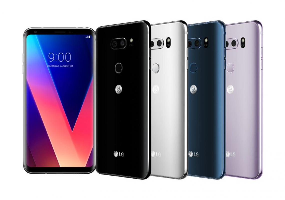 LG เปิดตัว LG V30 มาพร้อมกับจอ P-OLED และหูฟัง B&O