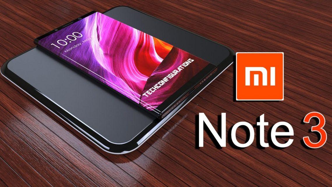 Xiaomi เตรียมเปิดตัว Mi Note 3 ในวันพรุ่งนี้!!!!