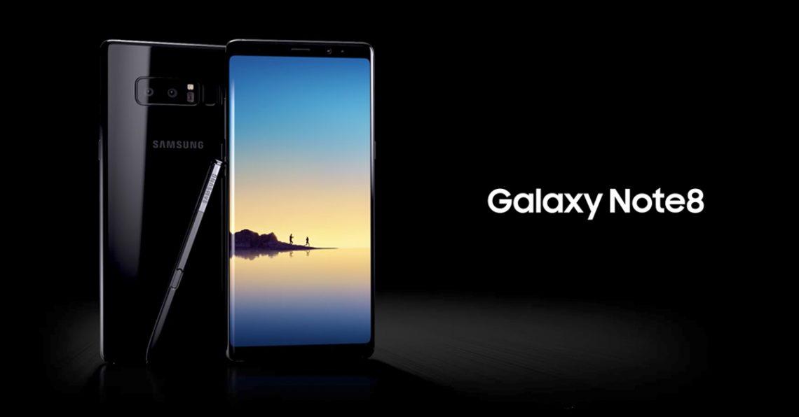 Samsung เปิดตัว Galaxy Note 8 อย่างเป็นทางการแล้ว มาพร้อมกับปากกาเทพ S-Pen และกล้องคู่ OIS รุ่นแรกของโลก ในราคาประมาณ 31,000บาท