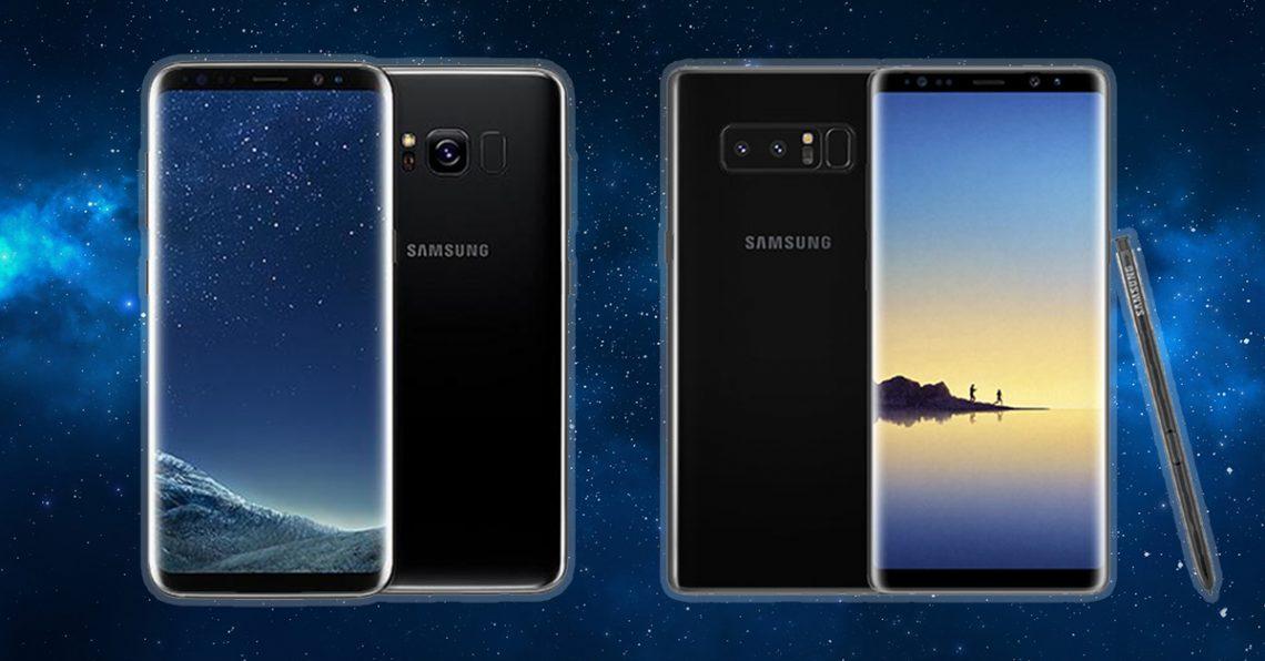 ซื้ออะไรดี ? ระหว่าง Samsung Galaxy S8+ กับ Samsung Galaxy Note 8