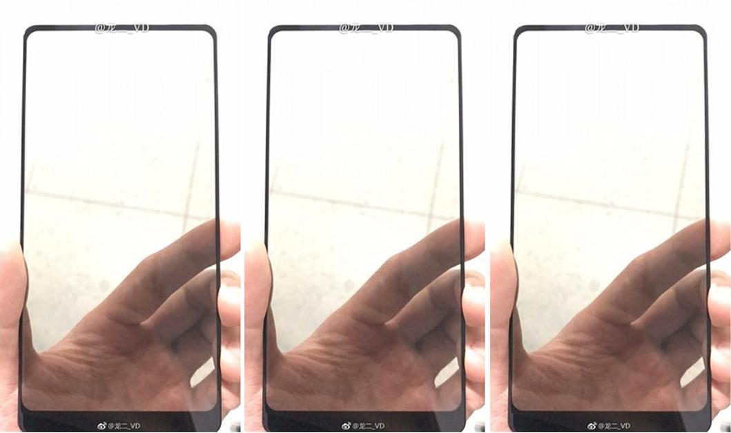 หลุดแผงหน้าจอของ Xiaomi Mi Mix 2 แสดงให้เห็นถึงความบางของกรอบตัวเครื่อง