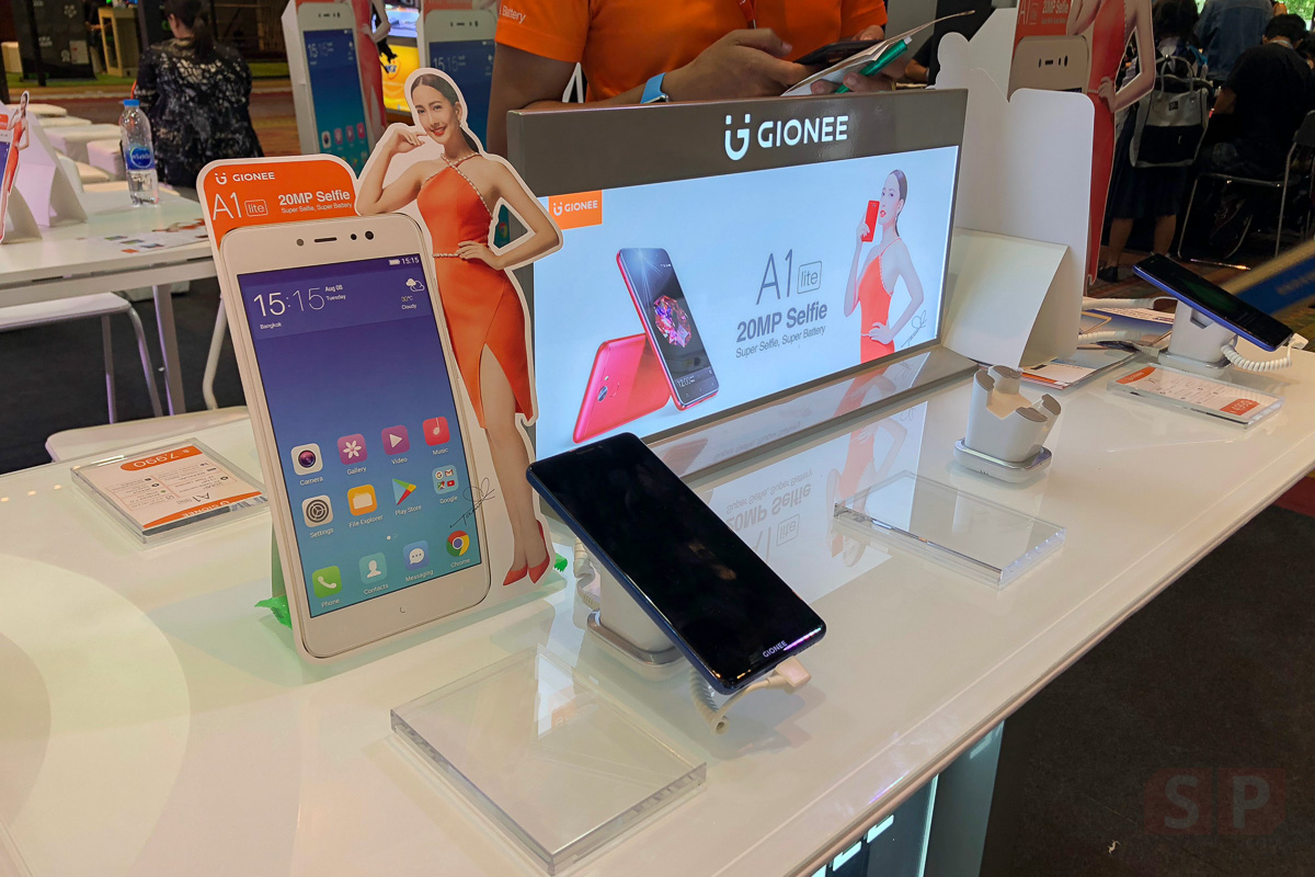 Booth Gionee and Promotion TME 2017 Showcase SpecPhone 0006