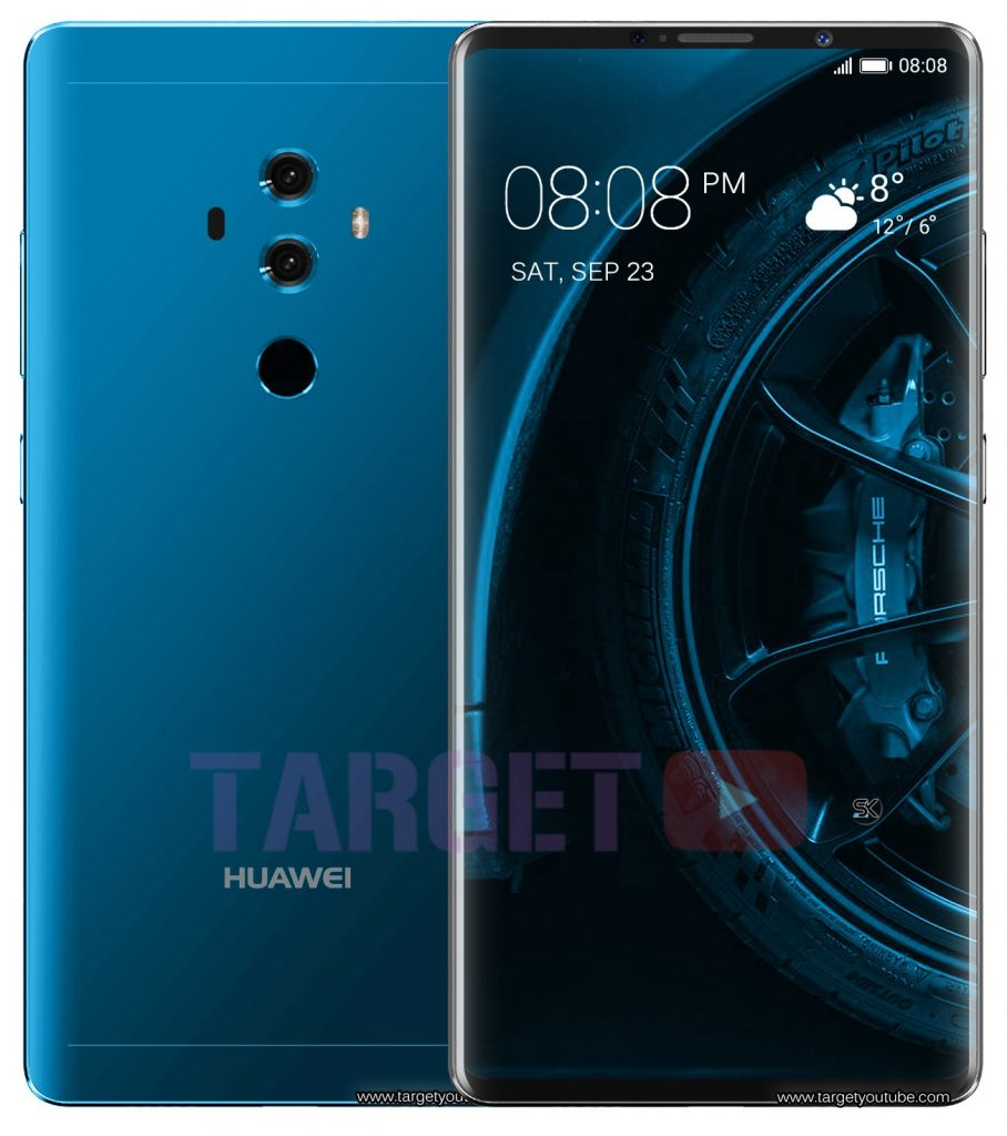 Huawei Mate 10 Porsche Design First Look Price Launch Date Specs