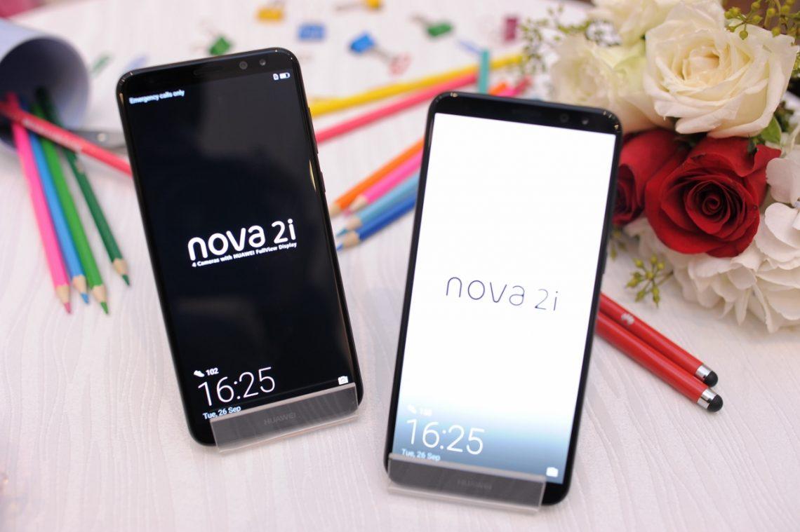 HUAWEI nova2i สมาร์ทโฟน 4 กล้อง พร้อมจอแบบ FullView ครั้งแรกจากหัวเว่ย ราคาเพียง 10,900 บาท พร้อมของสมนาคุณ 5,980 บาทในช่วง Pre-Order