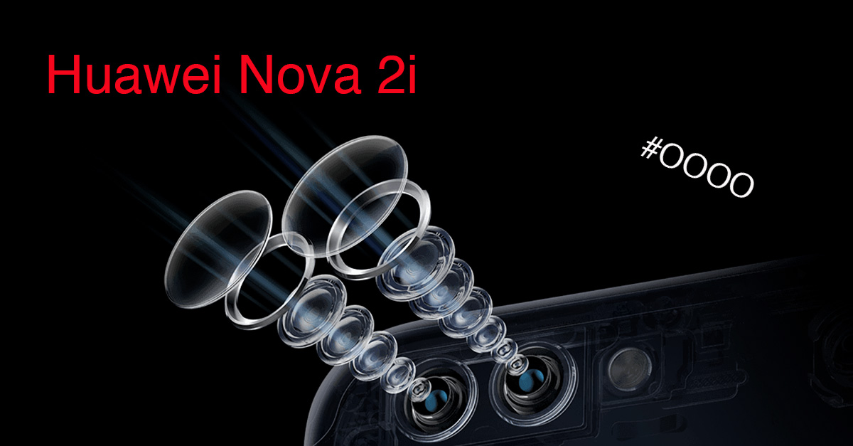 Huawei Nova 2i Smartphone with 4 Camera