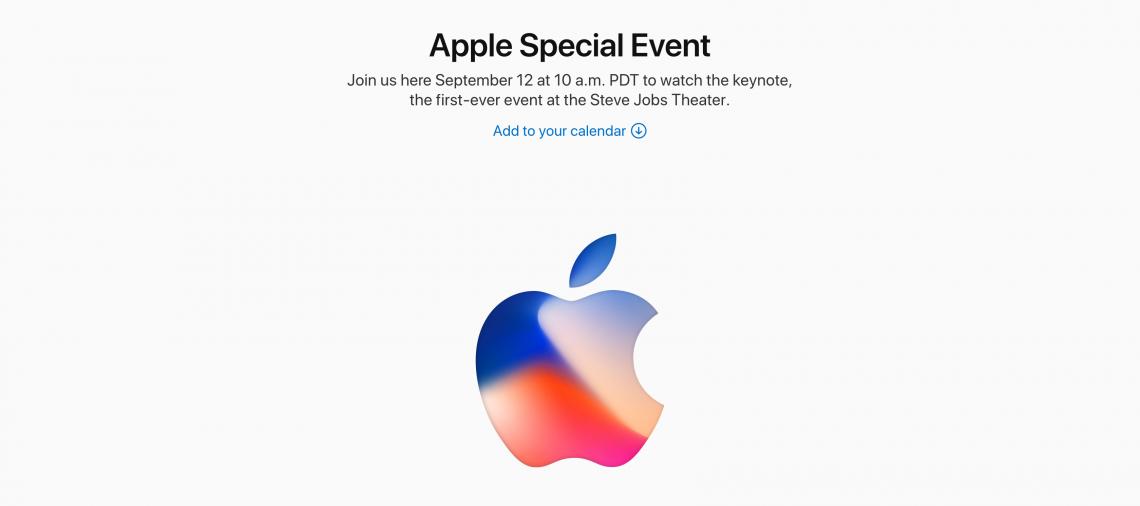 Apple ส่งจดหมายเชิญสื่อแล้ว คาดเปิดตัว iPhone 8 วันที่ 12 กันยายน 2560 นี้