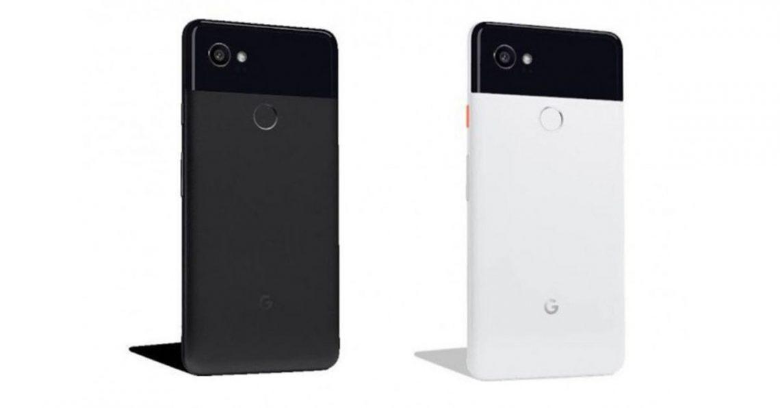 หลุดราคาและสีที่จะขายของ Google Pixel 2 และ Pixel 2 XL