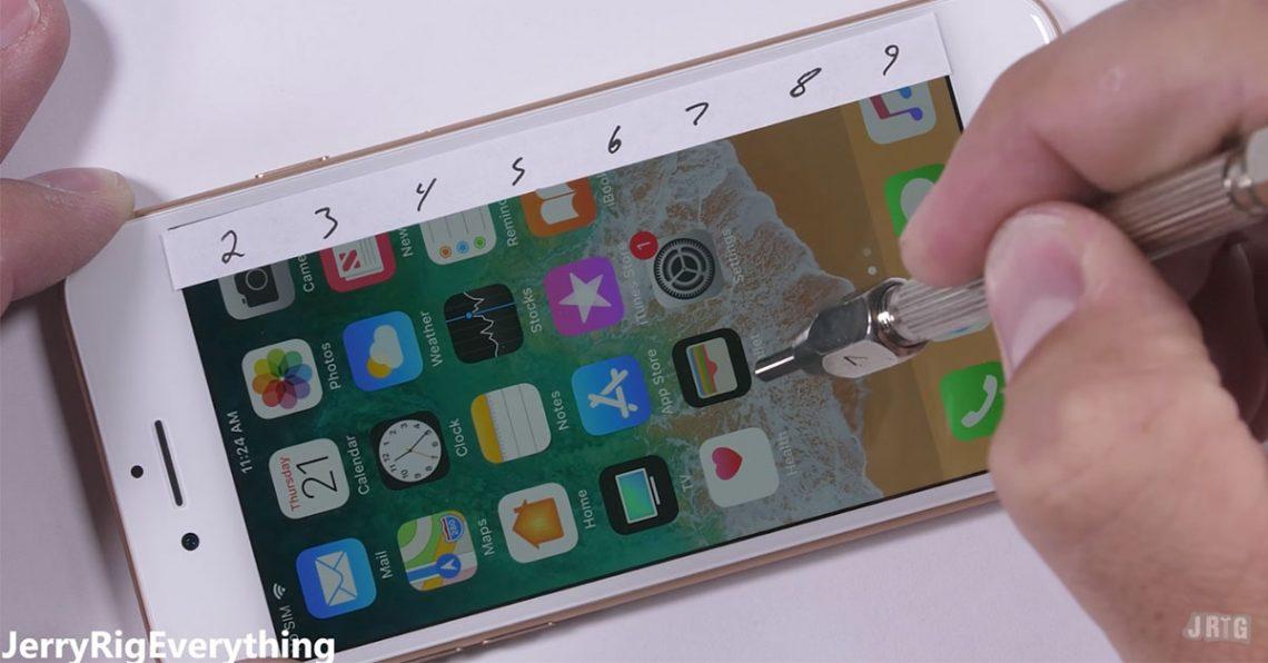 จะรอดไม่รอด iPhone 8 โดนจับมาทดสอบความแข็งแรงตัวเครื่องแล้ว