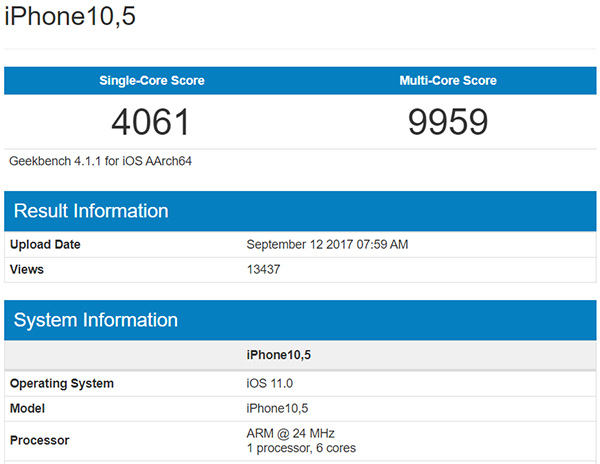 iphone-X-geekbench