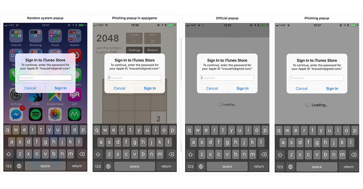 ระวัง พบการหลอกแบบใหม่ที่จะทำให้เรากรอกรหัสผ่าน Apple ID โดยไม่รู้ตัว