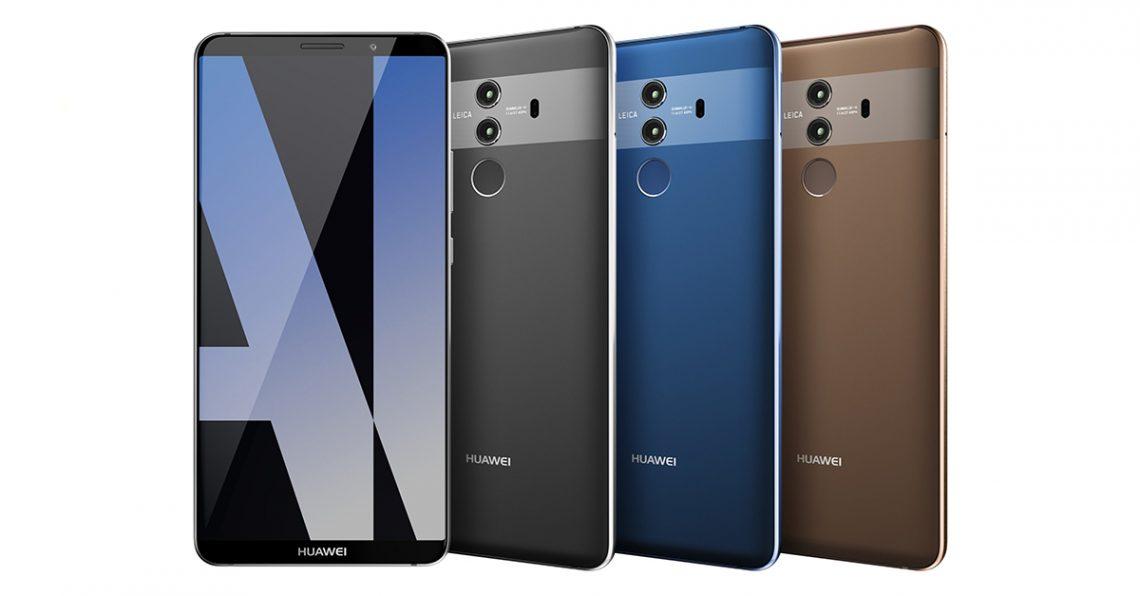 Huawei Mate 10 Pro มาพร้อมกับ 3 สีใหม่ Grey, Blue, และ Brown