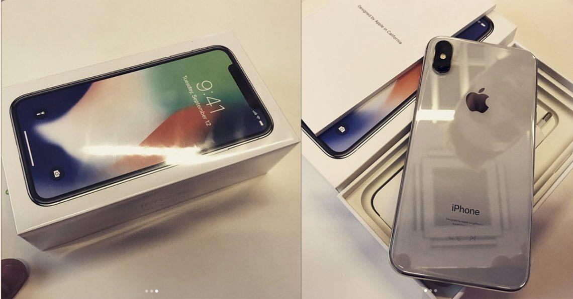 หลุดแกะกล่อง iPhone X พร้อมใช้งานให้ดู