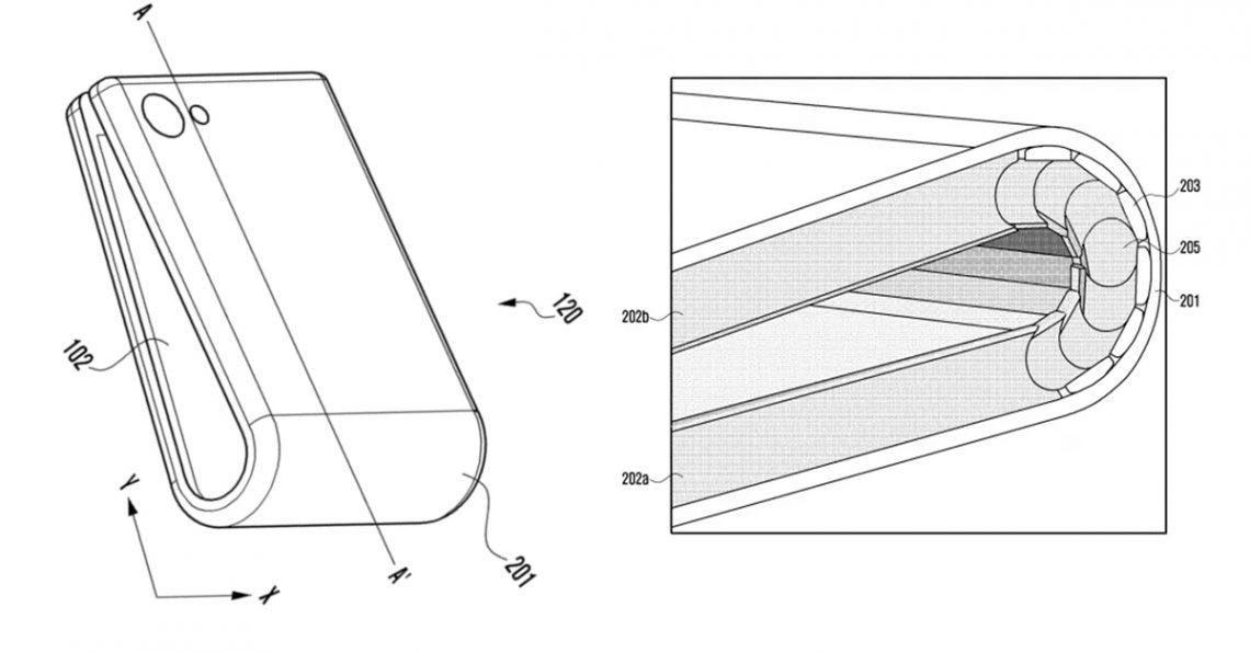 Samsung จดสิทธิบัตรมือถือพับได้ที่คาดว่าเป็น Galaxy X
