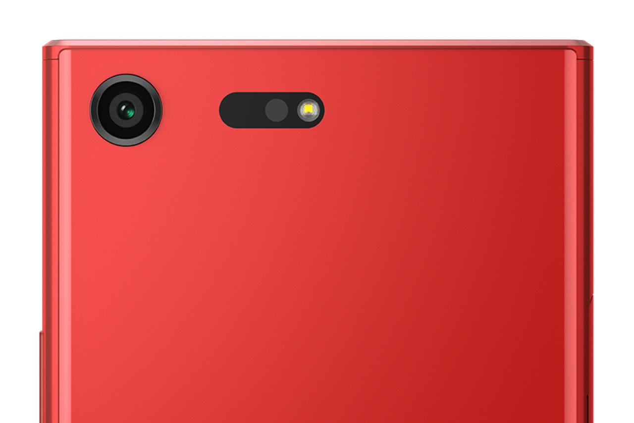Red Xperia XZ Premium 5