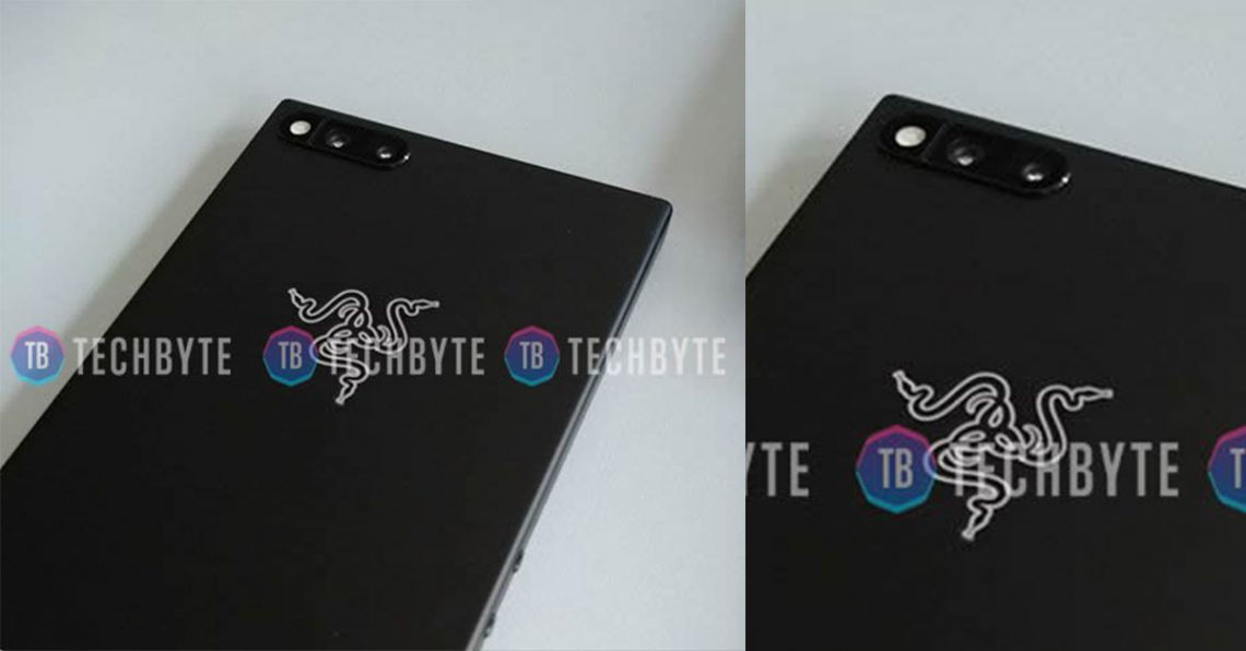 ภาพหลุด Razer Phone โทรศัพท์สายเขียว มาพร้อมกับกล้องหลังคู่และ RAM 8 GB