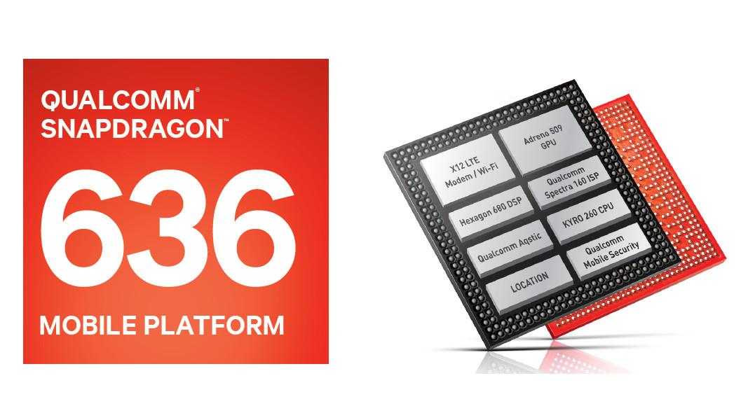 Qualcomm เปิดตัว Snapdragon 636 ที่เร็วกว่า Snapdragon 630 ถึง 40%