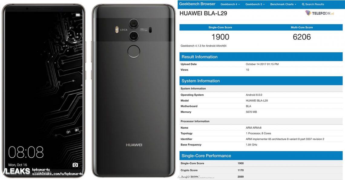 สรุปข่าวลือ Huawei Mate 10/10 Pro ก่อนงานเปิดตัว สเปค ตัวเครื่อง อุปกรณ์เสริม