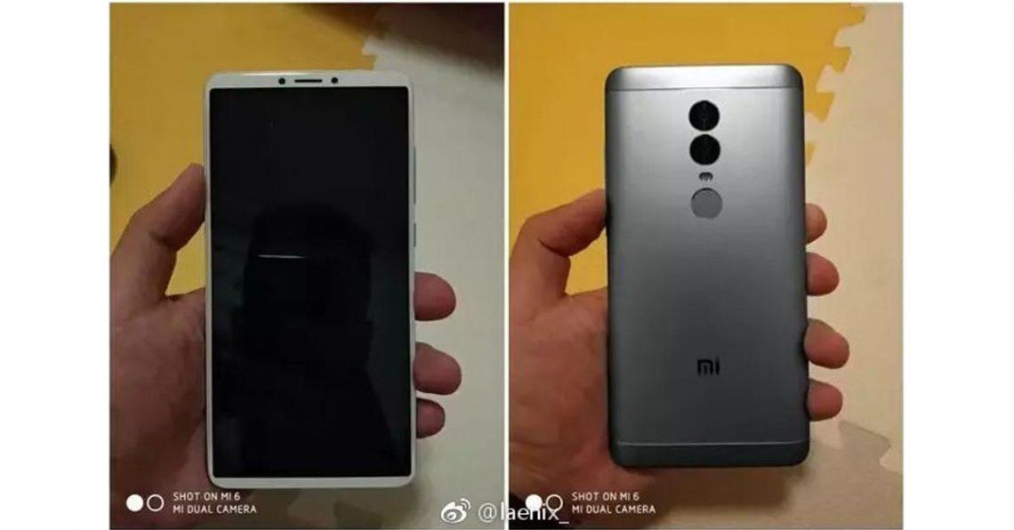 Xiaomi Redmi Note 5 มาพร้อมจอ18:9 และกล้องหลังคู่ในราคาแค่ 5,000 บาท