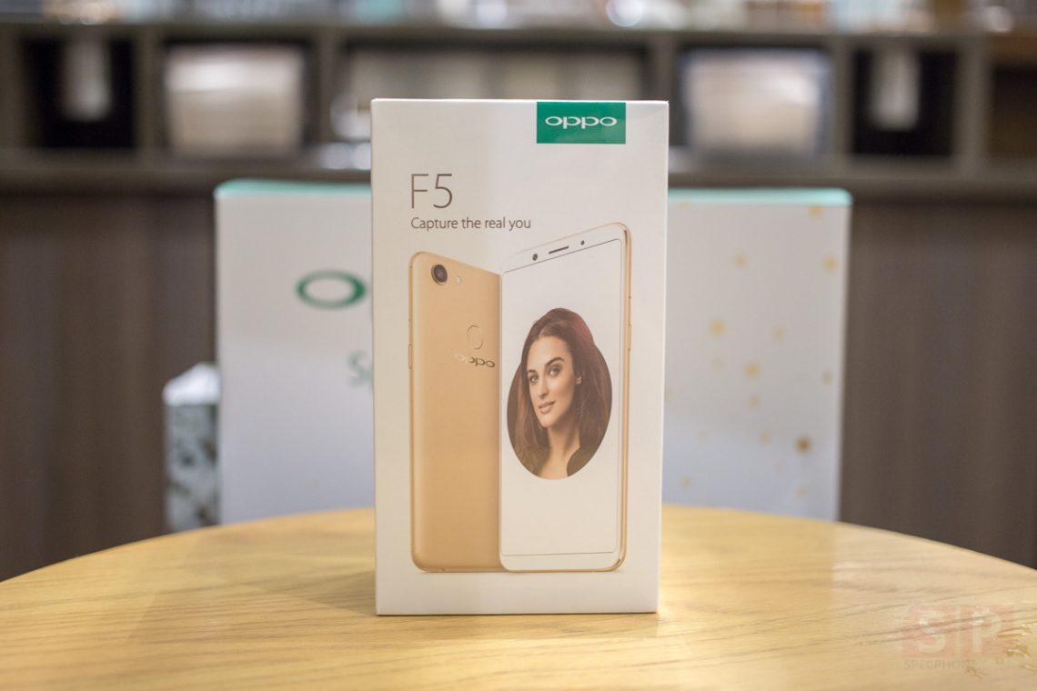 แกะกล่อง OPPO F5 จอ 6 นิ้ว18:9 มาพร้อมกับกล้อง A.I. Beauty ในราคา 9,990 บาท