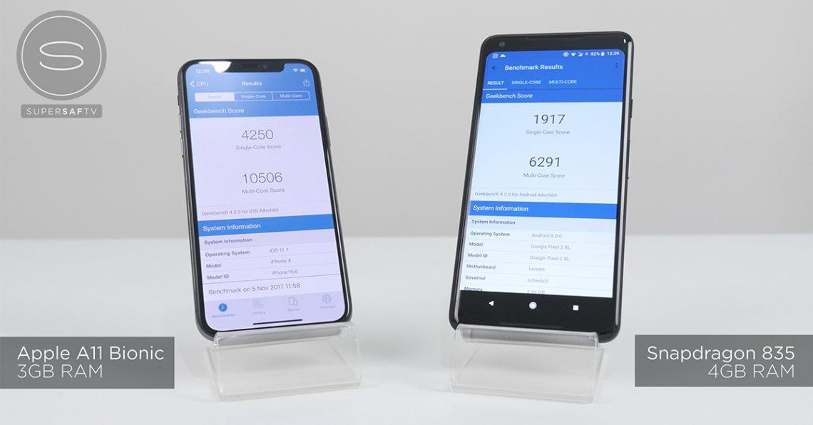 ศึกแห่งความเร็ว iPhone X vs Pixel 2 XL SPEED Test