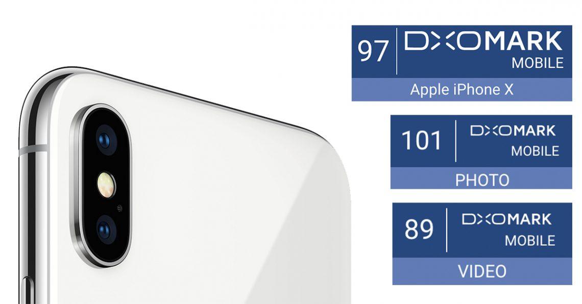 iPhone X ได้คะแนน DxOMark 97 แต่ได้คะแนนภาพนิ่งทะลุ 100