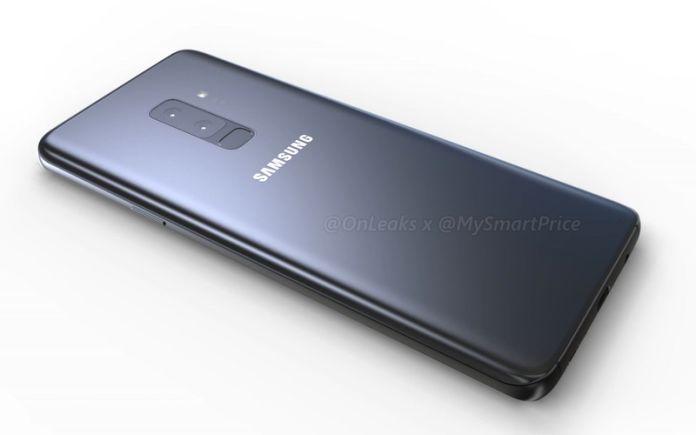 หลุดภาพเร็นเดอร์ Samsung Galaxy S9+ มาพร้อมกล้องคู่ และหน้าจอใหญ่ถึง 6.1 นิ้ว
