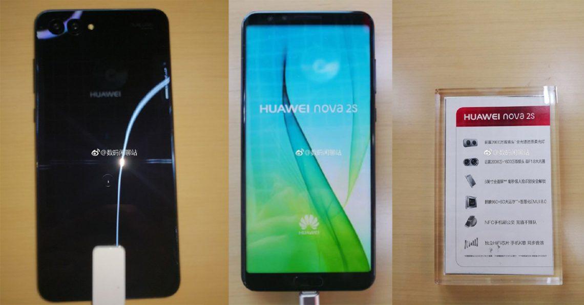 หลุดสเปค Huawei nova 2s มาพร้อม Kirin 960 หน้าจอ FullView, EMUI 8.0 และ 4 กล้อง!!
