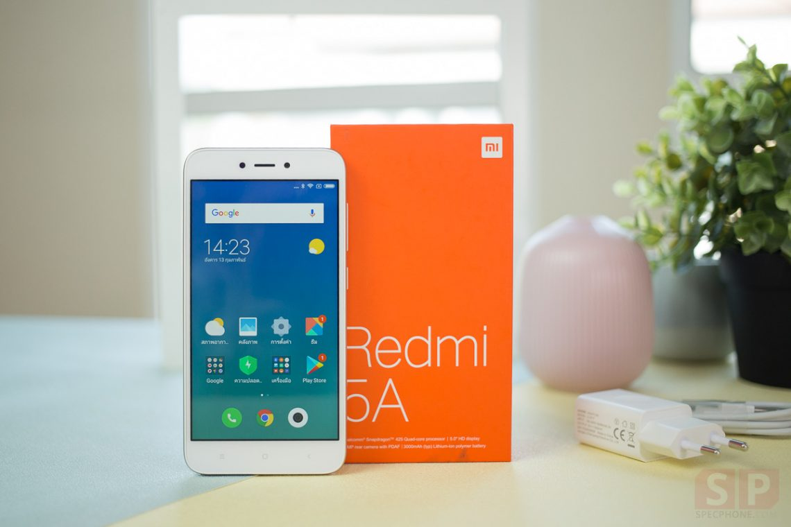 [Review] Xiaomi Redmi 5A รุ่นเล็ก สเปคแรง และคุ้มค่าที่สุดในราคา 2,790 บาท!!