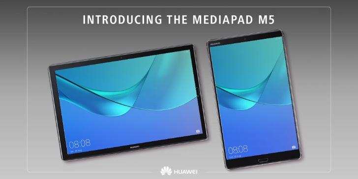 เปิดตัว Huawei MediaPad M5, M5 Pro แท็บเล็ตแอนดรอยสุดแรง หน้าจอ QHD ราคาเริ่มต้น 13,000 บาท!!