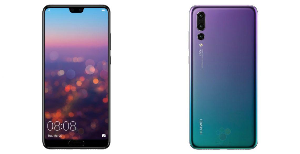 หลุดเต็ม ๆ ภาพตัวเครื่อง Huawei P20 และ P20 Pro แบบชัด ๆ กล้อง 3 ตัว พร้อมสเปค
