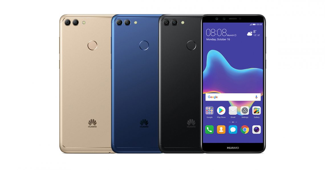 เผยสเปค 'HUAWEI Y9 2018' สมาร์ทโฟน 4 กล้อง หน้าจอ FHD+ แบต 4,000 mAh และ Android 8.0!!